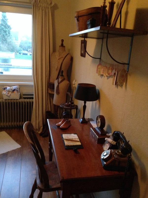 Engelse stijl landelijk interieur - Engelse stijl slaapkamer ...