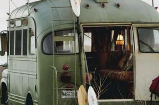 binnenkijken in een caravan