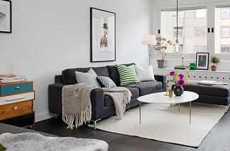 Binnenkijken in Zweeds appartement