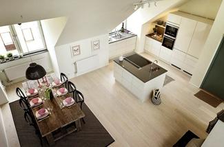 Binnenkijken: Sfeervol penthouse in Stockholm