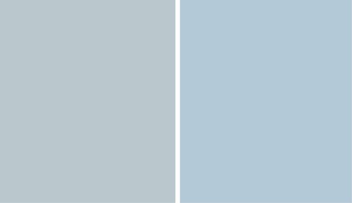 Ik zeg blauw inspiraties - Verf grijs slaapkamer en blauw ...
