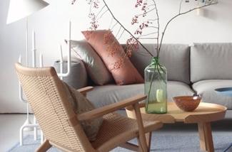 Binnenkijken interieur: Breng kleur in je interieur - met kussens en textiel