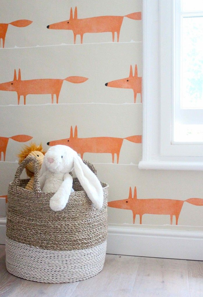 Leuk Behang Kinderkamer.Hip Behang Babykamer