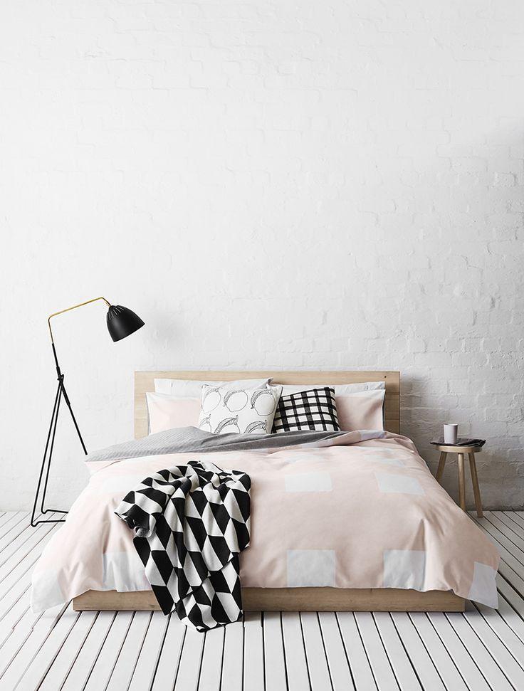 Scandinavisch wonen inspiraties - Deco salon zwart wit ...