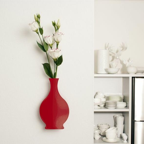 Vaasjes voor aan de muur inspiraties - Hoe kleed je een witte muur ...