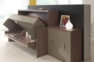De ideale oplossing voor een kleine slaapkamer