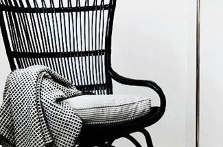 Binnenkijken interieur: De zwarte stoel