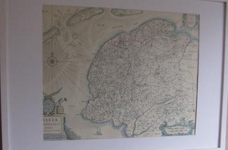 Decoreren met landkaarten