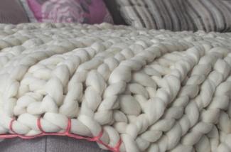 Blog: Deken van merino wol