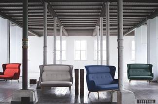 Design loungebank voor twee