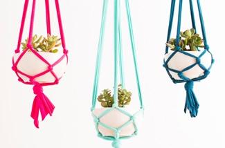 DIY planten hanger
