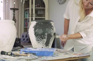 DIY potten verven