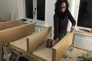 DIY zwevende planken
