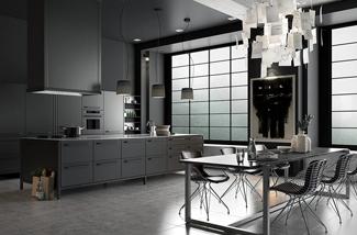 Donkere keukens