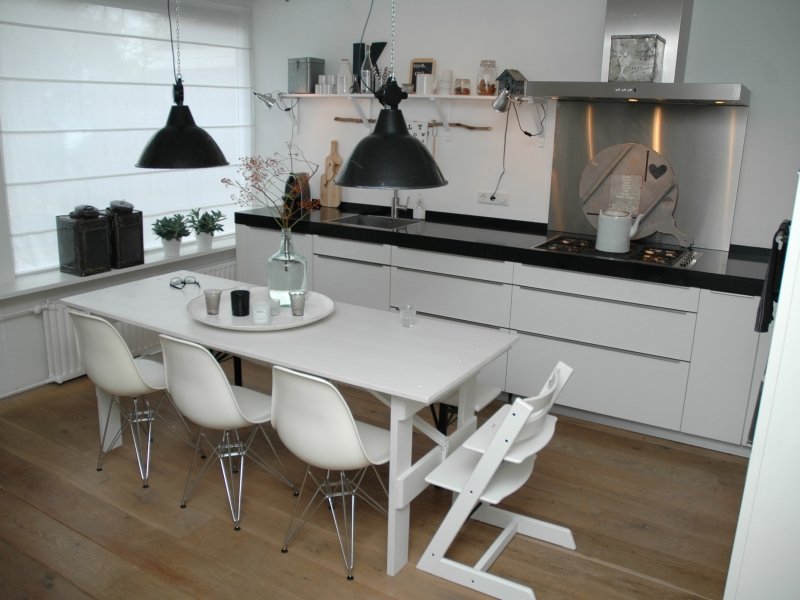 Keuken interieur for Interieur keukens