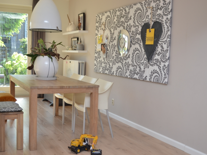 Awesome Muurversiering Woonkamer Pictures - New Home Design 2018 ...