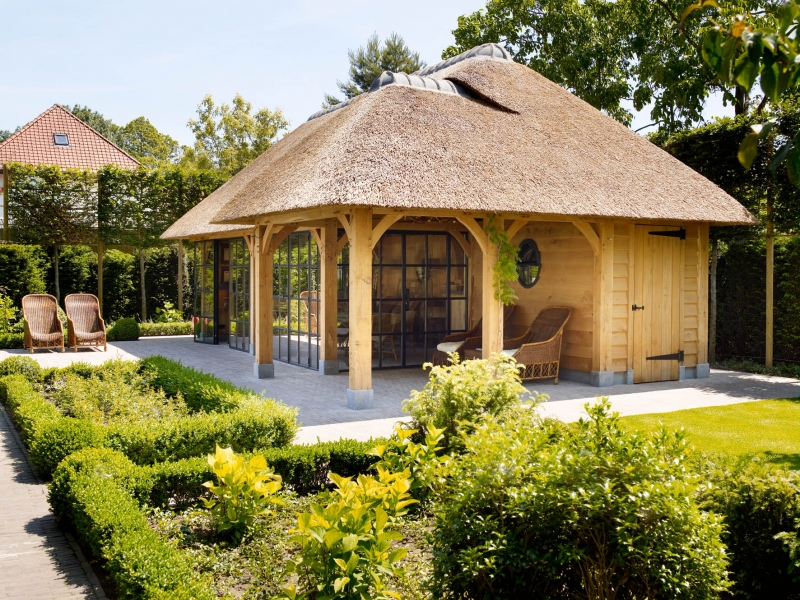 Eiken Poolhouse - Interieur - ShowHome.nl