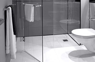 Een hygienische badkamer