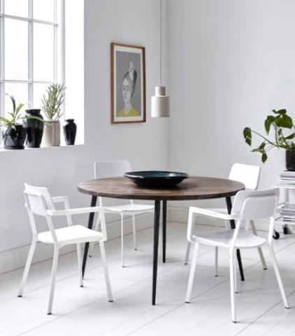 10 x eetkamerstoelen wit - Inspiraties - ShowHome.nl