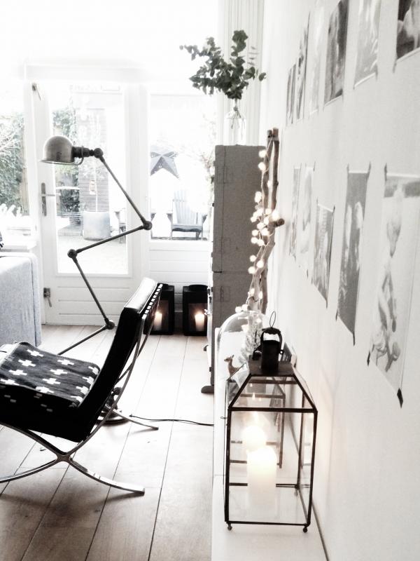 Binnenkijken interieur: kerstboom eruit stoel erin:)