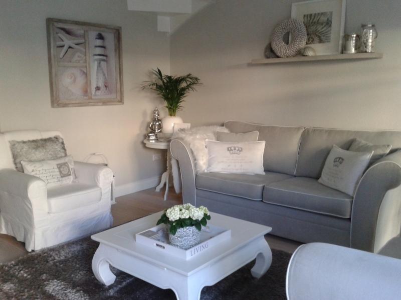 Landelijk licht interieur for Decoratie interieur woonkamer
