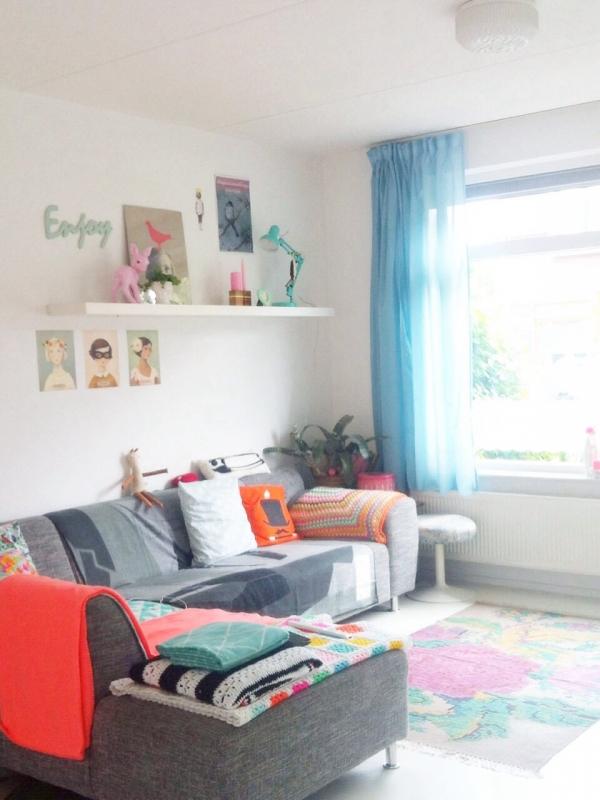 Bienemize my life kleur mijn interieur interieur - Kleur kamer volwassen foto ...