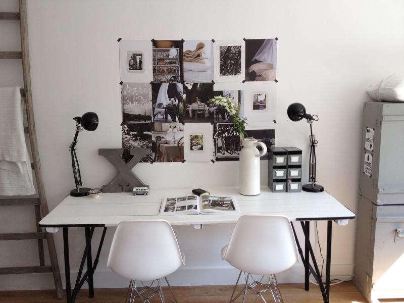 Binnenkijken interieur: werkplek