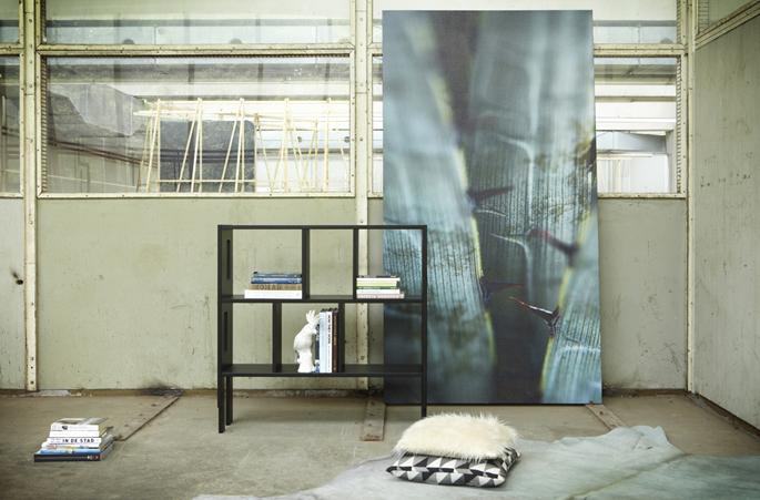 fotostyling voor eigen wanddecoratie label pure prints