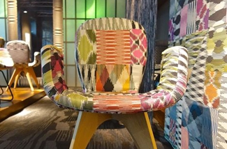 Blog: Gebreide stoel