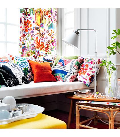 10 x gekke printjes en veel kleur in je interieur for Kleur in je interieur