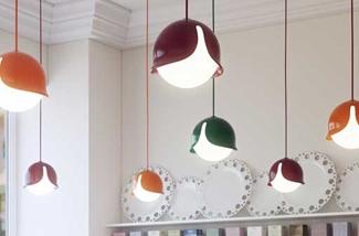 Gekleurde hanglamp
