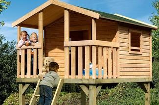 Gezellige houten huisjes