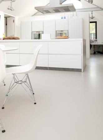 Gietvloer van Piet Boon Keuken