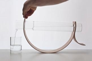 Blog: Glazen waterkan