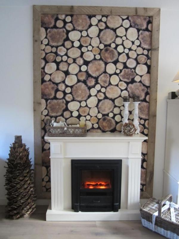 Klaar voor de winter interieur - Kamer wanddecoratie kind ...