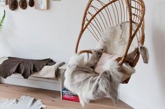 Blog: Hangstoel in de woonkamer