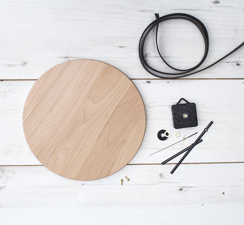Zelf een houten klok maken   Inspiraties   ShowHome nl