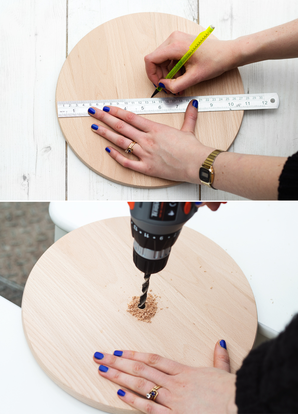 Zelf een houten klok maken inspiraties - Hoe je een centrum eiland keuken te maken ...