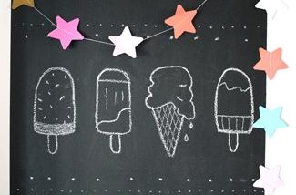ijsjes in huis