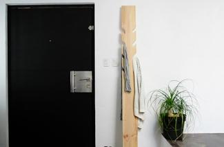 Kapstok maken van een mooie plank