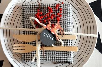 8x Diy Kerstdecoratie : Inspiratie voor het dekken van een kersttafel inspiraties
