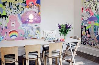 Blog: Kleur en fantasie in het huis van Lisa Grue