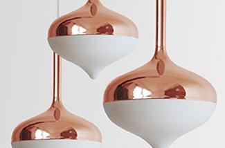 Blog: Koperen hanglamp