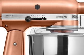 Blog: Koperkleurige keukenmachine