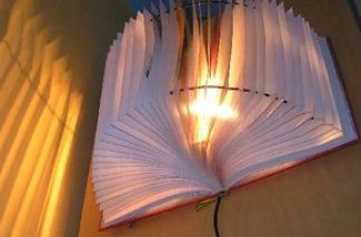 Blog: Lamp van een boek maken
