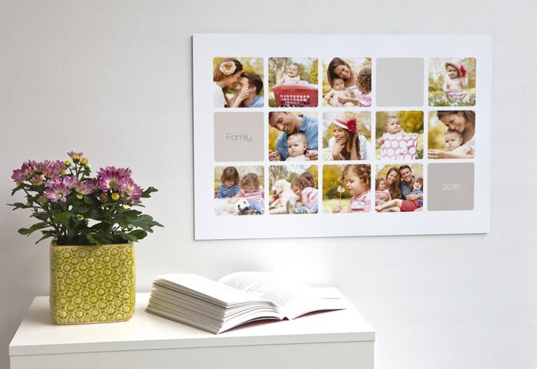 Hoe kun je een leuke fotocollage maken inspiraties - Leinwand fotocollage ...
