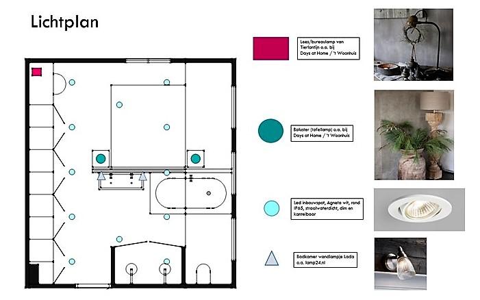 Badkamer en slaapkamer en suite - Interieurstylist - ShowHome.nl