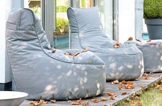 Luxe zitzakken voor buiten!