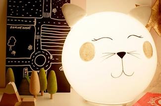 maak een leuke lamp voor in de kinderkamer