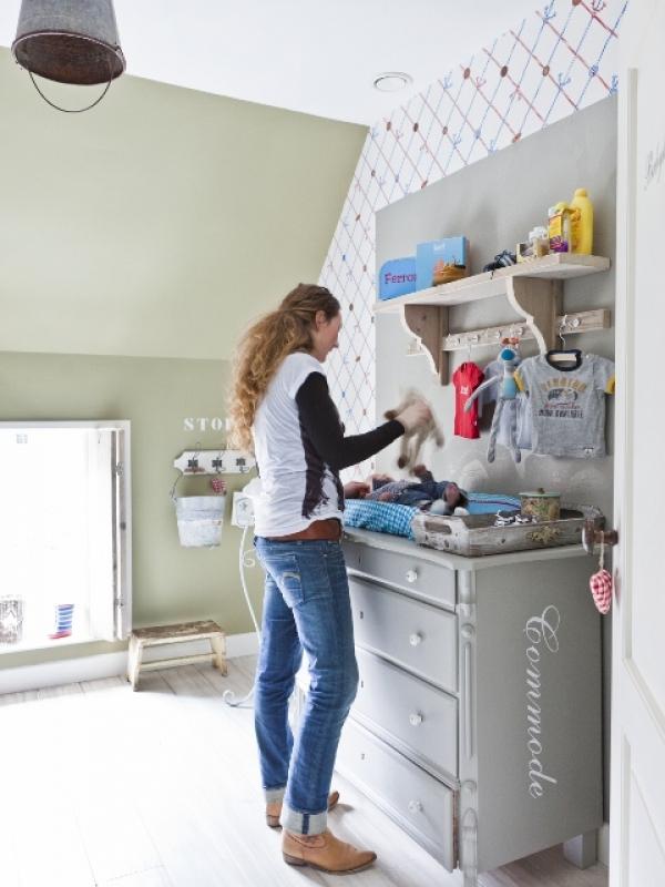 stoere landelijke babykamer ~ lactate for ., Deco ideeën
